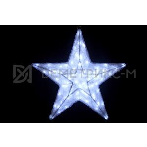 Звезда 3D, 448 светодиодов, диаметр 60 см, потребляемая мощность 26,9 Вт