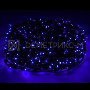Клип лайт Синий Флеш (мерцание) 12 В трансформатор в комплекте