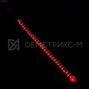Светодиодная сосулька красная