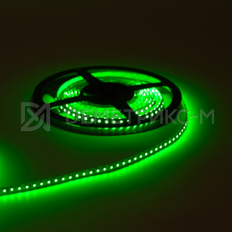 Светодиодная лента зеленый