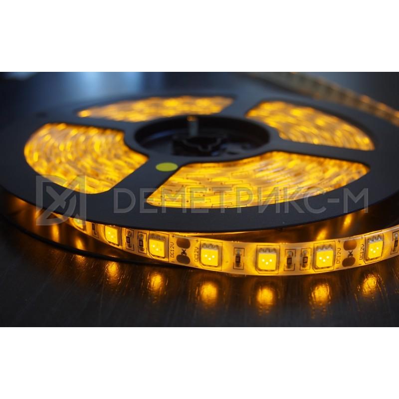 Светодиодная лента желтая