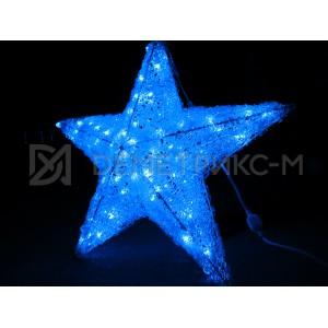 Звезда 3D, 100 светодиодов, 60х60х30 см, потребляемая мощность 9 Вт