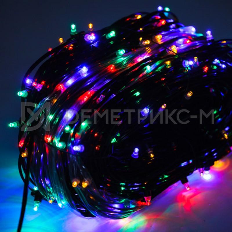 Клип лайт Мульти Фиксинг, Прозрачный провод, 333 LED, бухта 100 м,12V/20W