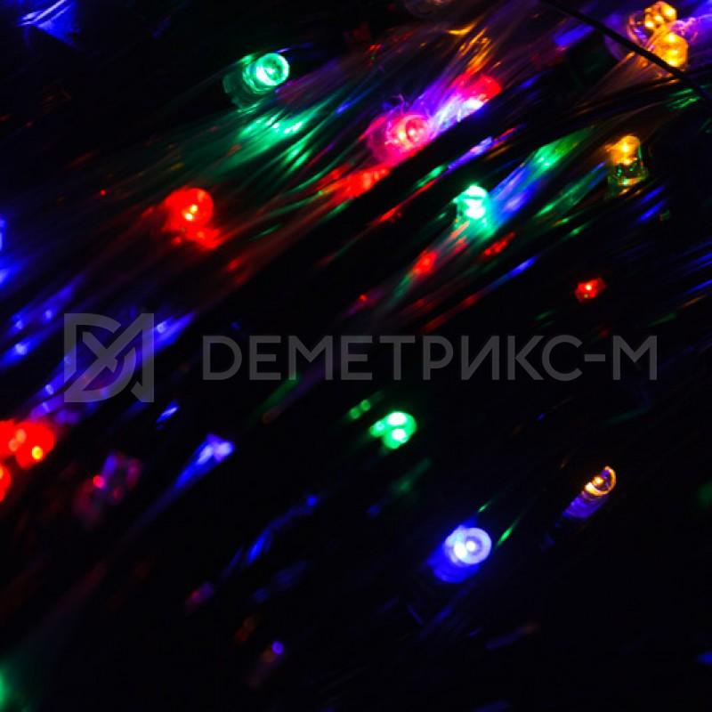Клип лайт RGBY (Мульти) Фиксинг (постоянное) 12V/6W, бухта 30 м 100 LED