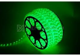 Светодиодный дюралайт 2W Зеленый Фиксинг