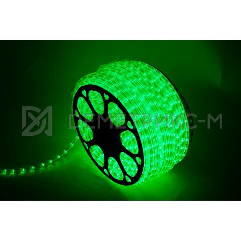 Светодиодный Дюралайт 3W Зеленый Чейзинг