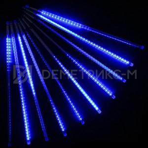 Светодиодная сосулька синяя
