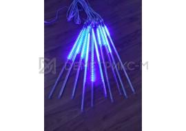 Сосульки светодиодные Синие 3 x0.5m, 10шт