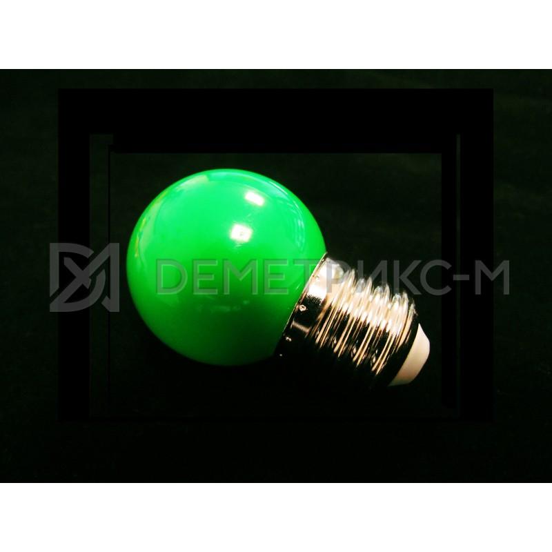Светодиодная лампа Зеленая 5 Диодов