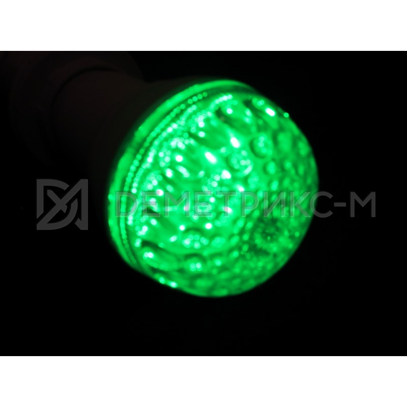 Светодиодная лампа Зеленая 9 Диодов