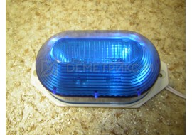 Строб-лампа Синяя Накладная LED (Светодиодная) (Лампа-вспышка)