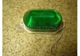 Строб-лампа Зеленая Накладная LED (Светодиодная) (Лампа-вспышка)