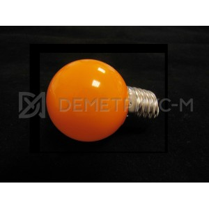 Светодиодная лампа Оранжевая 5 Диодов