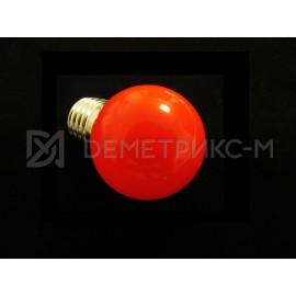 Светодиодная лампа Красная 5 Диодов