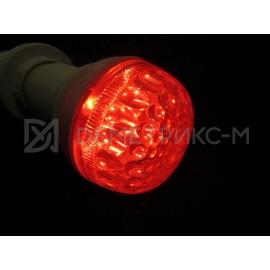 Светодиодная лампа Красная 9 Диодов