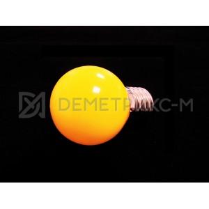Светодиодная лампа Желтая 5 Диодов