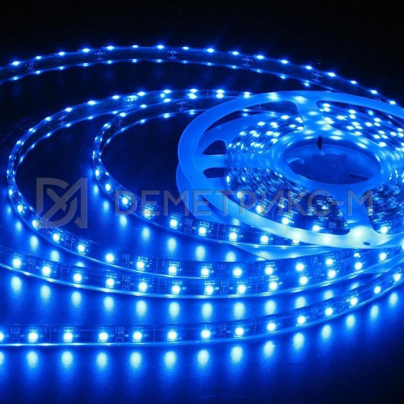 Светодиодная лента синяя