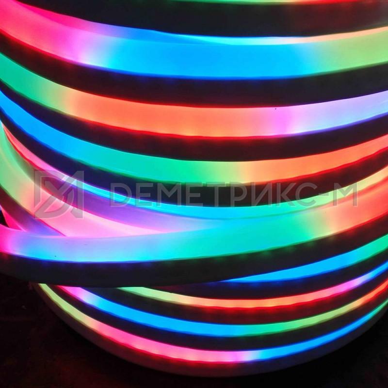 Гибкий неон RGB (Мульти) Чейзинг 220 В