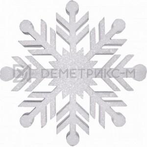 Снежинка Резная 100 см белая
